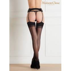 Back Opaque Seamed Stockings..