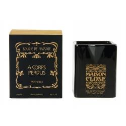 Bougies de Massage - A CORPS PERDUS / PATCHOULI - Maison Close