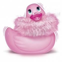 "Canard Vibrant ""I Rub My Duckie"" Rose - Big Teaze Toys"