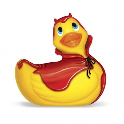 "Canard Vibrant ""I Rub My Duckie Red Devil"" - Big Teaze Toys"