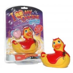 "Canard Vibrant ""I Rub My Duckie Red Devil"" - Big Teaze Toys"