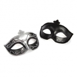 Masques Style Vénitien Masks On - 50 Shades of Grey
