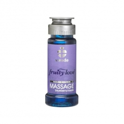 Huile de Massage Fruity Love Blueberry/Cassis 50 ml - Swede -