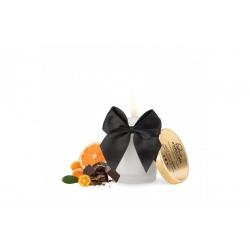 Bougie de Massage Embrassable Chocolat Noir - Bijoux Indiscrets