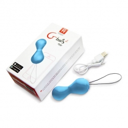 Boules de Geisha Gballs 2 bleue - FunToys