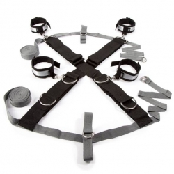 Kit de Bondage Over the Bed Cross Restrain -  Fifty Shades of Grey