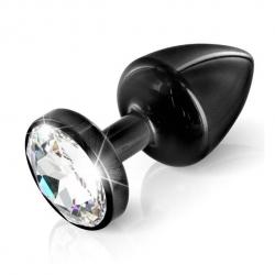 Plug Anal Anni Butt Plug Round Black 25 mm - Diogol