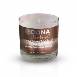 Bougie de Massage Kissable Chocolate Mousse 225 ml - Dona