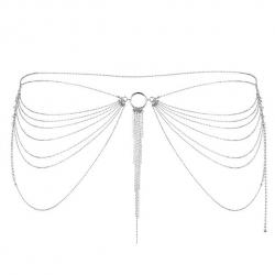 Tour de Taille en Chaînettes Métalliques Magnifique Silver - Bijoux Indiscrets