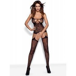 F208 BODYSTOCKING BLACK - Obsessive