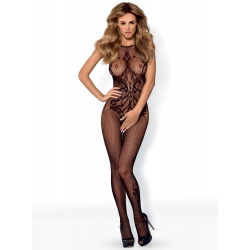 G308 BODYSTOCKING - BLACK - Obsessive