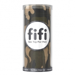MASTURBATOR CAMO WITH 5 SLEEVES - Fifi