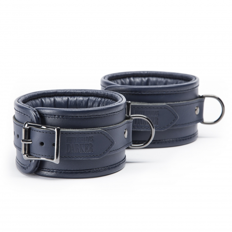 LEATHER ANKLE CUFFS - FIFTY SHADES DARKER