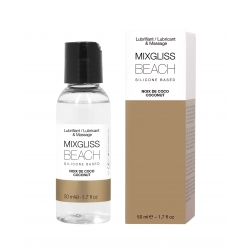 COCONUT 50 ML/1.7FLOZ - MIXGLISS SILICONE BEACH