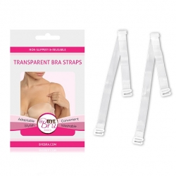 Bye Bra - Transparent Bra Straps Clear